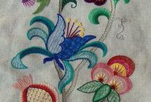 Embroidery, pattern, batik design