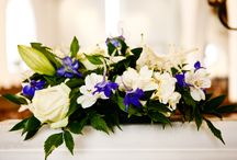 Church flower arrangements - weddings / A small selection of the church arrangements I've created for weddings over the last six years
