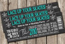 skating invitations