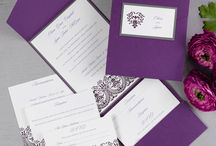 Plum Perfect / Purple Palettes for Wedding Inspiration