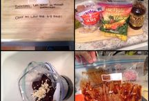 Tried and true freezer meals / Meals we have made during our cooking days / by Jessica Douglass