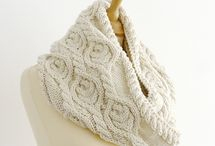 Crochet & Knitting Scarves