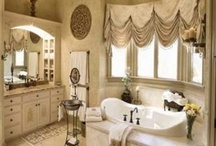 Bathroom curtains   / by Lachelle Anderson