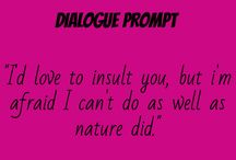 Dialogue/Writing Prompt