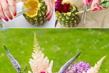 Pineapple Theme Party / Pineapples