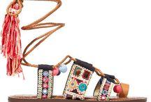 shoes, sandals, etc