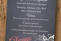 Vow Renewal Ceremony / Ideas and suggestions for 10 year vow renewal.