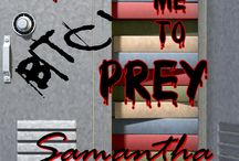 TEACH ME TO PREY / TEACH ME TO PREY... A standalone thriller... Jason and his buddies decide to take on a teacher in a crazy scheme. When she fights back, things really get out of hand... A New Adult tale that will get your heart racing...  US - http://www.amazon.com/dp/B0106UG2N2 UK - http://www.amazon.co.uk/gp/product/B0106UG2N2 CA - http://www.amazon.ca/gp/product/B0106UG2N2 AU - http://www.amazon.com.au/gp/product/B0106UG2N2 / by Samantha Jacobey