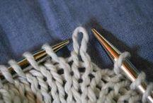 basic description of knitting