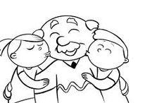 Caricatura niños