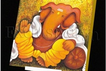 my friend ganesha / paintings and pictures of lord ganesh