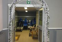 Arche / Arche pour la sortie ou l'entrée des mariés