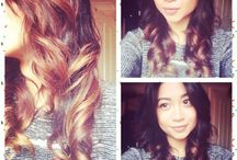 Ombre hair / Dark to light ombre