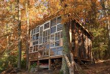 wooden architecture / by Nadine de Villiers