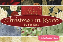 "Christmas in Kyoto by Robert Kaufman / Robert Kaufman Fabrics - ""Christmas in Kyoto"""