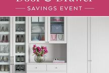 Current Promotion / by California Closets MN