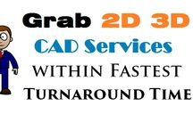 Grab 2D 3D CAD Services within Fastest Turnaround Time