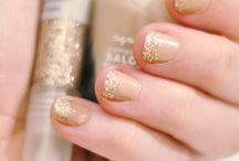 Hair + Nails / hair, hairstyles, nail colors, nail art, nail polish
