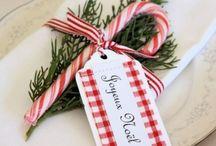 Christmas food, decorations etc