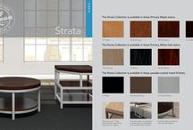 STRATA / Strata balances sleek, contemporary lines with the traditional warmth of wood surfaces to deliver a look that flatters any décor.