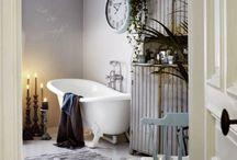 Ванная шебби шик / Стиль шебби шик — это атмосфера, которая излучает тепло, ностальгию, уют бабушкиного дома…