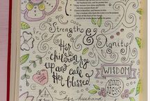 prayer art pages