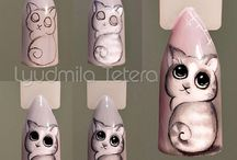 Animals nailart tutorials