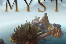 A Game Called Myst / Myst was created by Cyan. These are some images that appear in the marketing of the game.