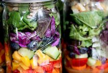 salads in a bottle