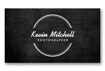 Business Cards for Photographers / Customizable business card templates and marketing materials for Photographers and Photography Studios
