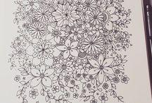 doodle - flowers