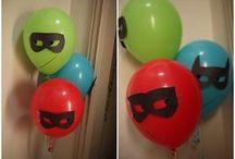 PJ Mask party isabella