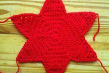 estrela de crochê