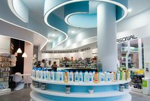 Pharmacy design interior