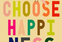 hapiness is a choice