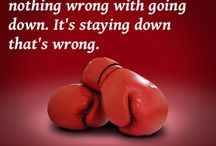 Boxing and Life