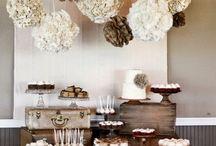 Wedding: Candy Bar Set Up
