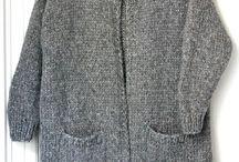 Strikke trøje
