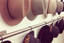 Hat Displays / Where to hang your hat