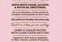Healthy Eating / Clean eating for a healthy and active lifestyle!