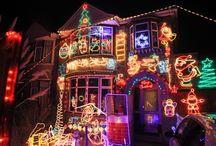 Household Christmas lights