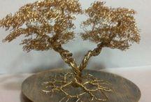 wire tree / wire tree sculpture