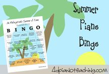 Piano Lessons: Summer Resources