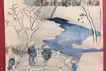 Art Gallery - Historic Anaheim Campus / Student artwork from the Historic Anaheim Campus