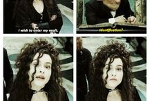 Bellatrix Lestrange / lovely lady, actually