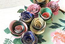 Papierblumen {Paper Flower}