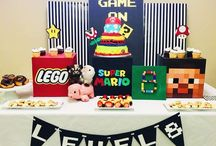 Kids' Video Games Party Ideas / For all the gamers out there - a collection of inspiring ideas for kids' video games birthday parties.
