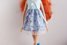 Doll dresses (Barbie, Monster High)