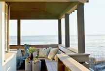Dream Beach House ideas / Inspiration for Decor and Architecture: Laud back living