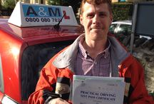 Intensive driving course Bath / Richard passes his driving test